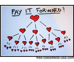 Pay it Forward Movement - Trikle Trade