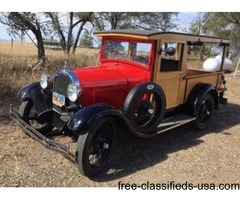 1928 Ford Model A Huckster For Sale