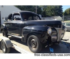 1941 Ford Deluxe Business Coupe For Sale