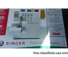 Serger Singer ProFinish Sewing Machine