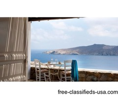 Traditional Vacation Villa in Mykonos, Greece