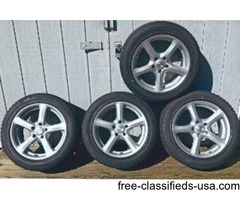 4 WINTER SNOW TIRES