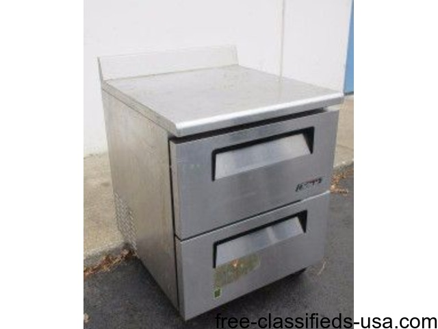 Stainless Commercial Work Top Refrigerator | free-classifieds-usa.com