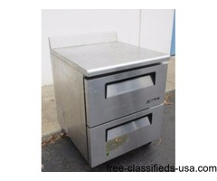 Stainless Commercial Work Top Refrigerator
