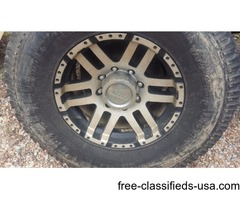 Set of eagle alloy rims 8 lug 17