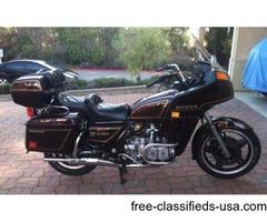 81 Honda GL1100 Interstate