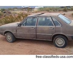 1981 Audi Diesel