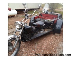 (2) Custom Built VW Trikes
