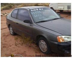 1999 Hyndai 2 door hatchback