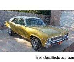 1972 Chevrolet Nova For Sale in La Cruces