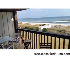 Ocean Front Condo-Great View-Large Deck