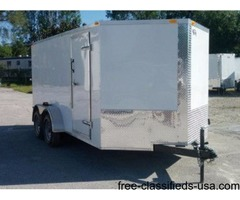 7 x 14 Enclosed Trailers