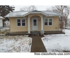 3 bedroom, 1 bath home with steel siding