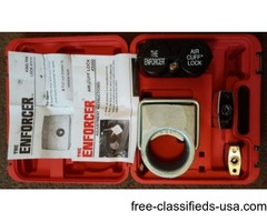 "FOR SALE ""THE ENFORCER"" 18 WHEELER 4 PIECE SECURITY LOCK SET"
