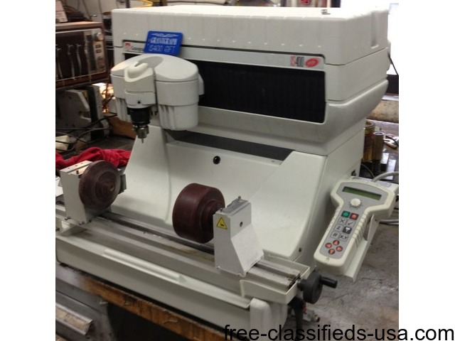 2003 Gravograph Is400 Gift Refurbished G7 Rotary