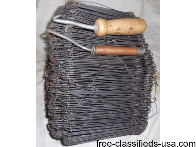 Concrete rebar wire ties and two spinner tools - Tools & Equipment ...