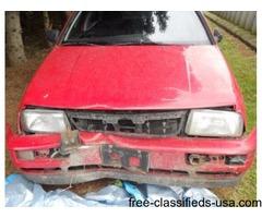 1996 VW Jetta 4 door