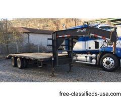 2011 Delta goose neck trailer w/ball & 5th wheel