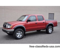 2002 Toyota Tacoma Crew Cab 4x4