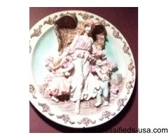 heavy resin angel plates