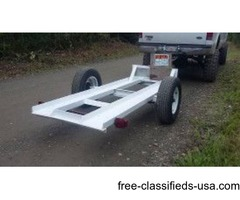 Great Deal-Remodeled Heavy Duty Steel Tilt Trailer
