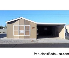 WINTER in Sunny Yuma in this 2010 Clayton 2Bed