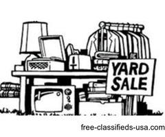 Huge Garage Estate Warehouse Yard Sale