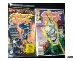 Comic Books: Ghost Rider, Thor, Iron Man, Misc.