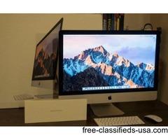 "Used Retina 27"" iMac, i5, 8GB RAM, 1 TB Hard drive"
