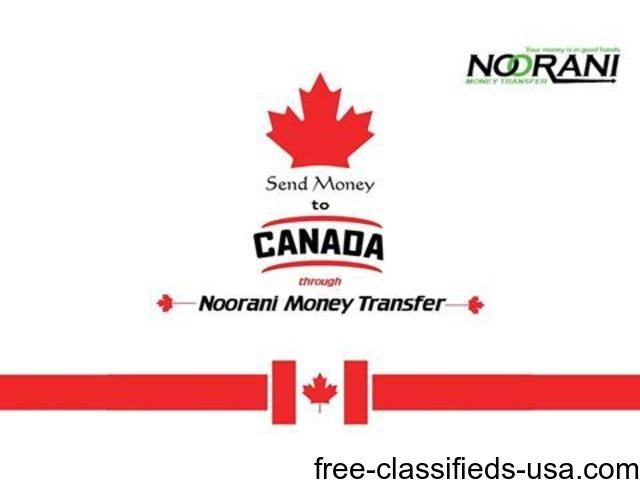 Send Money To Canada