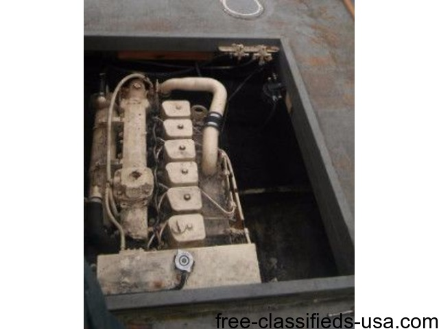 Cummings Boat Engine 185 HP   free-classifieds-usa.com