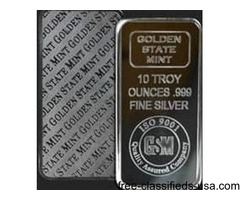10 oz Silver Fine Bullion Bar .999 up for grabs?