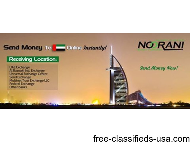 Send Money to UAE through Noorani Money Transfer