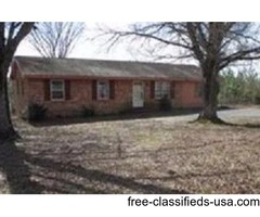 Solid Brick Single Family Home Only $19,900.