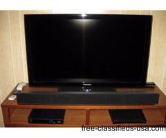 "HDTV. 40"". Samsung. $100."
