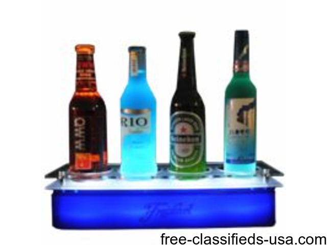 Back Bar Display Stands - MRL Promotions