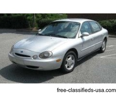97 FORD TAURUS GL SEDAN