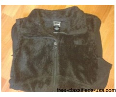 Black North Face Vest for women size Med. or Small