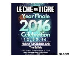 Leche de Tigre Final Friday Year Finale
