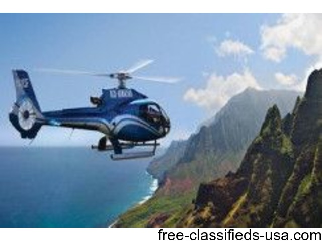 Kauai Helicopter tour from Oahu with Air Ticket