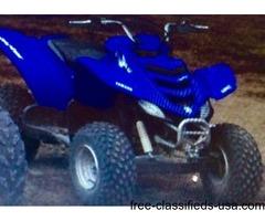 2009 Yamaha raptor 50