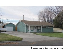 For Lease - 3 Bedroom, 1 1/2 bath House, Garage and Property