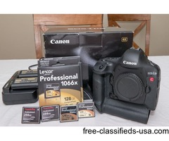 Canon EOS 1dc 4k cinema camera package