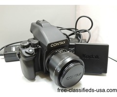 Contax 645 Camera with 80mm Lens + Kodak DCS Pro 645C Back