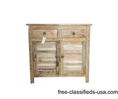 Antique Distressed Sideboard Dresser Buffet Shabby Chic
