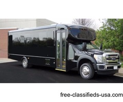 2016 Ford F550 Starcraft 28 Passenger Commercial Bus 6.8 Gas Engine