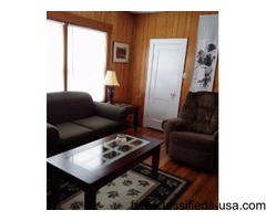 Furnished Carriage House w cable, wi-fi, etc.