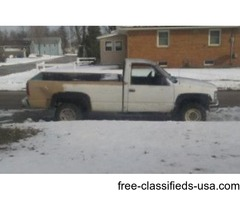 Gmc k2500 for sale
