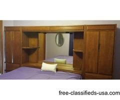 5-pc,Solid Oak Bedroom Set