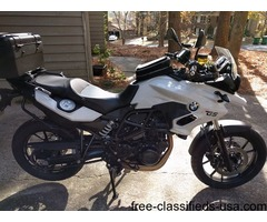 Motorcycle 2015 White BMW 700GS for sale